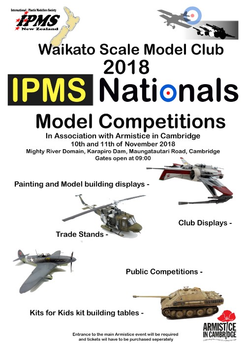 2018 IPMS Nationals A4 Flyer